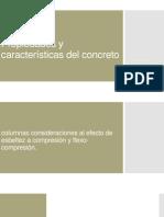 Propiedades y características del concreto