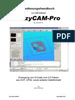 LazyCAM Pro 3.0 Handbuch