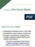 Porter 5 Forces Model