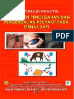 Pengendalian Penyakit Ternak Pada Sapi