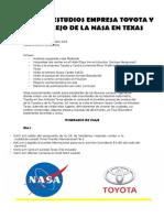 Viaje de Estudios Empresa Toyota y Complejo de La Nasa en Texas Nuevo