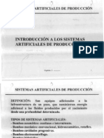 Introduccion de Sistemas Artificiales de Produccion