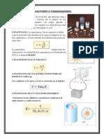 Formulas Condensadores