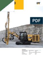 MD5150 Track Drill AEHQ6857 00