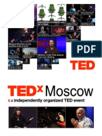 TEDxMoscow - presentation for OK'09 conference