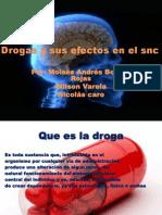 Drogas y Sus Efectos en El Snc