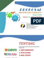 Proposal Smskampanye Petasuara Realcount Pemilu 2014