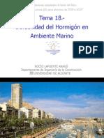 Tema 18.-Durabilidad del Hormigón en Ambiente Marino