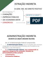 ADMINISTRAÇÃO INDIRETA