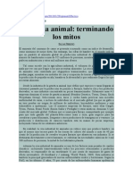 Industria Animal, Terminando Los Mitos. Silvia Ribeiro