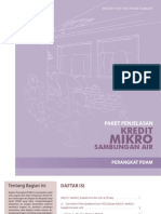 Water for the Poor Toolkit - Kredit Mikro - PDAM