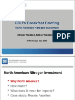AW - IfA Breakfast Briefing 2013 - North American Nitrogen Investment