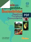 Guía para autogestión de sostenibilidad. Destinos turísticos comunitarios