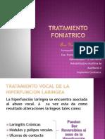 tratamiento foniatrico