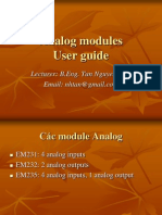 Analog Modules