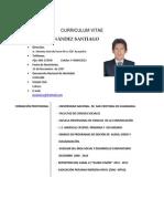 CURRICULUM VITAE JÒNATAN FERNÀNDEZ SANTIAGO
