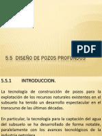 5.5 Diseño de pozosclase
