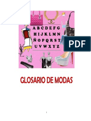 cd0da1f9a Glosario de Moda | Ropa | Moda y belleza