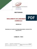 Reglamento Lineamiento Curriculo v2