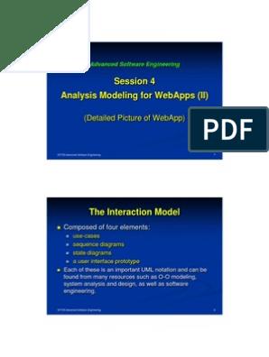 Sit725 4 Analysismodel 2 Pdf Web Application Web Browser