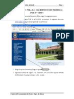 UAGRM Inscripcion Por Internet