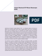 Fabricant Remorques Montreal Et Pièces Remorque | Transports Canada