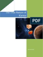 The True Nature of Karma