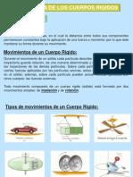 Cinematica de Cuerpo Rigido 2012-II