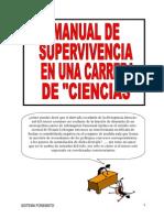Manual Supervivencia en Una Carrera de Ciencias