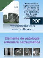 2.Elemente de Patologie Articulara Netraumatica