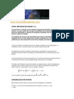 analisis matematico-MÉTODOS DE INTEGRACIÓN