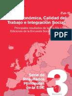 Crisis Economica Calidad Del Trabajo e Integracion Social