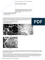 Cast Steel_ Microstructure and Grain Size __ KEY to METALS Article