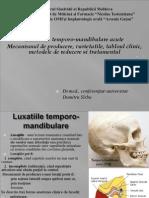 Prelegere Luxatiile Temporo-mandibulare