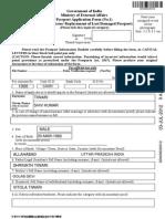 Pasport Form DDNI06330312GO0330