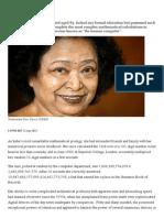 Shakuntala Devi - Telegraph