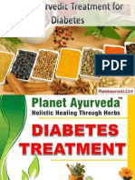 Planet Ayurveda Diabetes Treatment