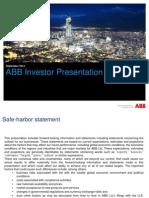 ABB+Investor+Presentation 20130904
