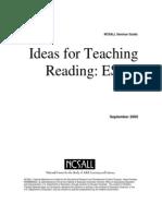 Ideas Esol Role