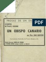 1940 Un Obispo Canario