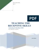 Receptive Skills