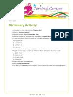 Carnival Eoi Dictionary Basic