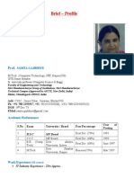 Samta Faculty Profile 13 14