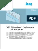 Sisteme Knauf Pereti cu schelet din lemn ecarisat