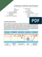 Tema 1. Inmunidad Contra Bacterias