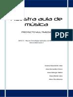 Nuestra Aula de Musica - Proyecto Multimedia