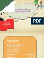 Identifikasi Gugus Fungsi Barbiturat