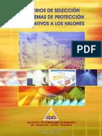 CRITERIOS DE SELECCIÓN DE SISTEMAS DE PROTECCIÓN ALTERNATIVOS A LOS HALONES_2004