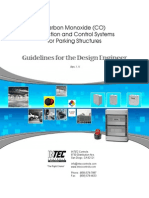 SENSOR - CO Parking Garage Design Guidelines