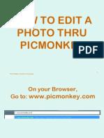 Picmonkey Tutorial Final